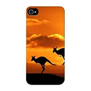 0a197d05092 Jumping Kangaroos Awesome High Quality Iphone 5/5s Case Skin/perfect Gift For Christmas Day