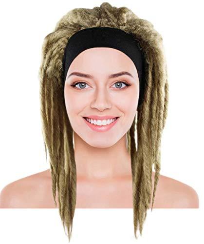 Deluxe Dreadlock Wig, Dirty Blonde Adult -