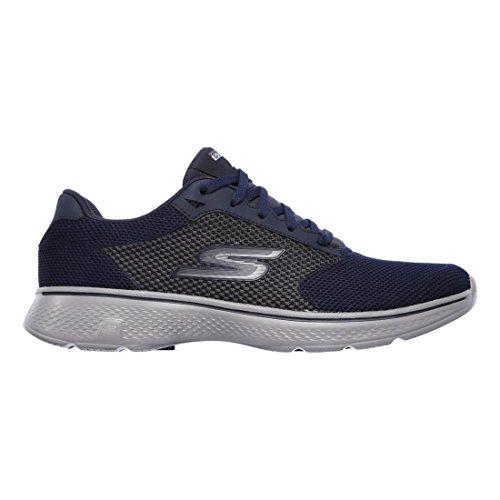 skechers-performance-mens-go-4-54150-walking-shoe-navy-gray-knit-13-m-us