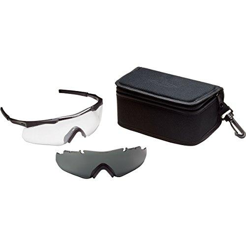 Smith Optics Elite Aegis Arc Eyeshield Field Kit, Gray/Black