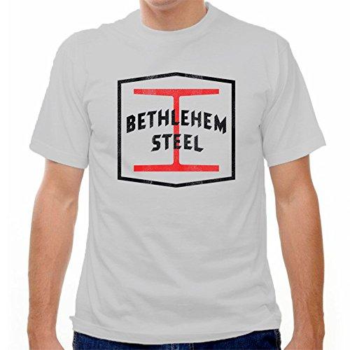 fan products of Bethlehem Steel Football Club T-shirt, Cool Grey, XX Large