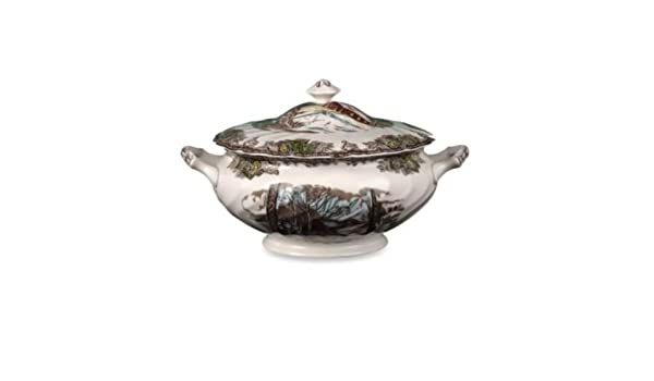Johnson Brothers Friendly Village Soup Tureen with Lid, 6-1/2 Pint by Johnson Brothers: Amazon.es: Hogar