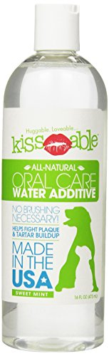KissAble Oral Care Water Additive for Pets, 16-Ounce