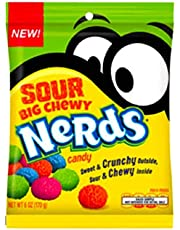 Sour Big Chewy Nerds - 1 Peg Bag - Imported Candy