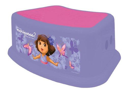 Ginsey Dora - Nickelodeon Dora The Explorer Step Stool, Purple