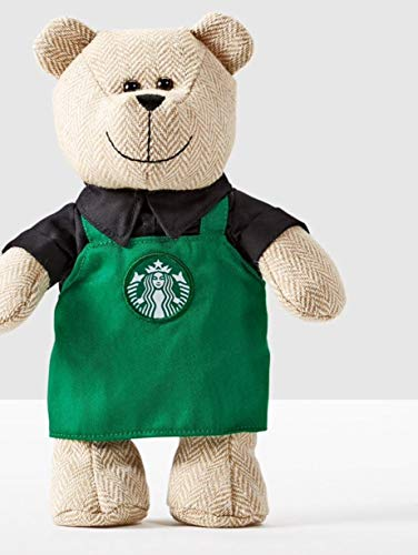 Starbucks Bear - Starbucks Bearista Bear with Green Apron