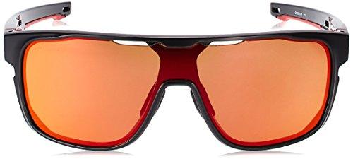 9d84530cd9 Oakley Men s Crossrange Shield (a) Non-Polarized Iridium Rectangular  Sunglasses