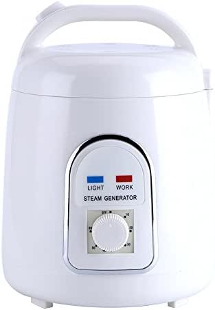 Sauna Steamer,1.5-1.8L 110V/220V Portable Home Steam Sauna Machine Saunas Steamer Pot for Family Use (US Plug)(US Plug)