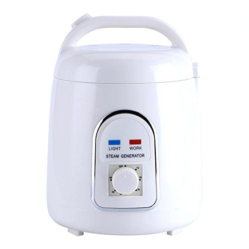 Fdit Saunas Steamer Pot 1.5-1.8L Home Portable Steam Sauna Suit Home Spa 110V(US Plug)
