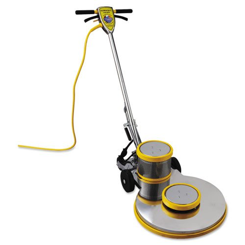- Mercury Floor Machines PRO-1500-20 Ultra High-Speed Burnisher, 1.5hp - burnisher, power cord and documentation.