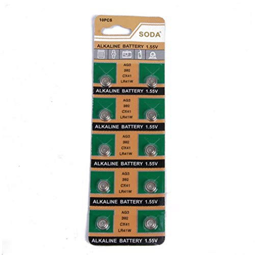 SE 10 of AG3/LR41 Alkailine Button Cell Watch Battery -