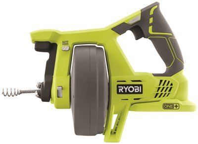 Ryobi P4001 One+ 18V Drain Auger, Tool Only, 11.22'' x 14.606'' x 6.89''