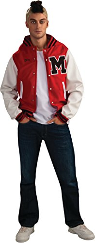 Glee Puck Football Player Adult Costume, Standard Color, Standard -