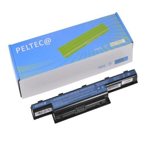 PELTEC@ Premium Notebook Laptop Akku für Acer Aspire 7551G 7741 AS10D61 BT.00607.125 BT.00603.111 BT.00606.008 BT.00607.127 AS10D31 AS10D3E AS10D61 AS10D71 31CR19/65-2 31CR19/652