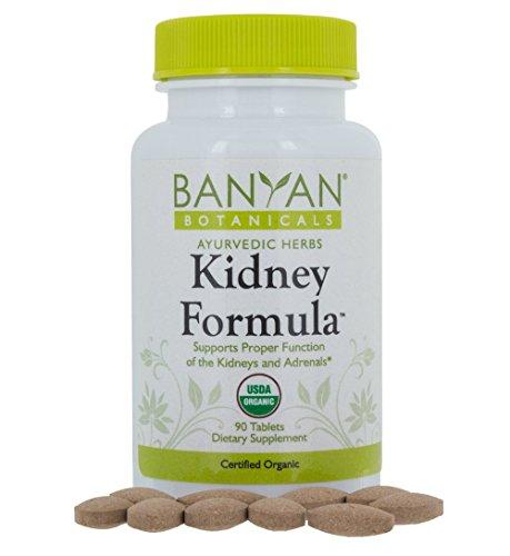 Banyan Botanicals Kidney Formula - USDA Certified Organic, 90 Tablets - Herbal Supplement to Support Kidney & Adrenal Function*