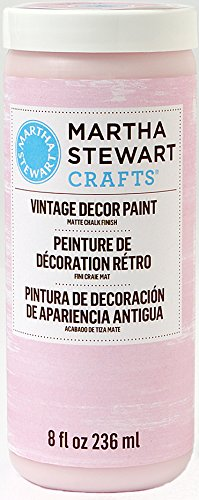 Martha Stewart Crafts Vintage Decor Paint in Assorted Colors (8-Ounce), 33538 Seashell