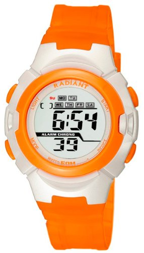 Radiant new kid reloj para Niño Digital de Cuarzo con brazalete de Silicona RA120602: Amazon.es: Relojes