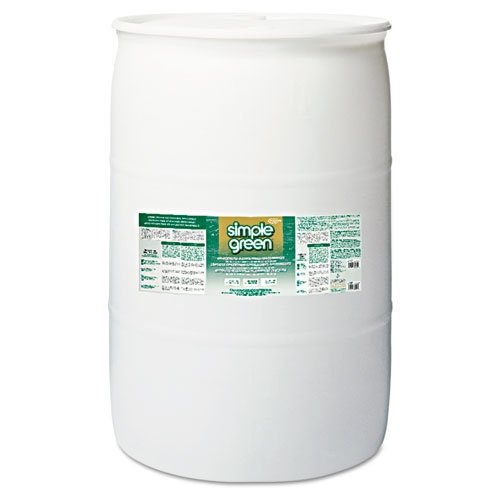 Simple Green 13008 Industrial Cleaner & Degreaser, Concentrated, 55 gal Drum by SIMPLE GREEN