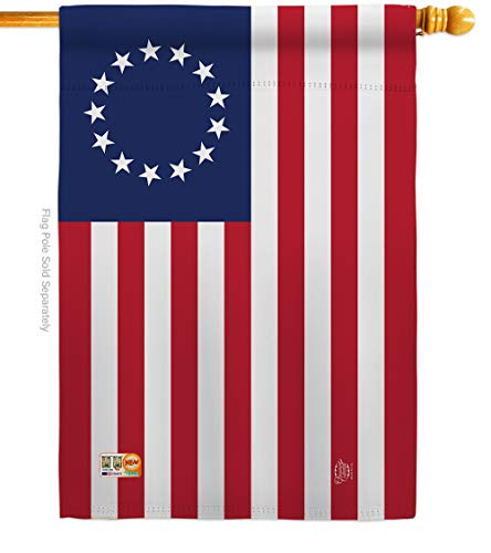 Ornament Collection H192173-P3 Betsy Ross Americana Historic Impressions Decorative Vertical 28