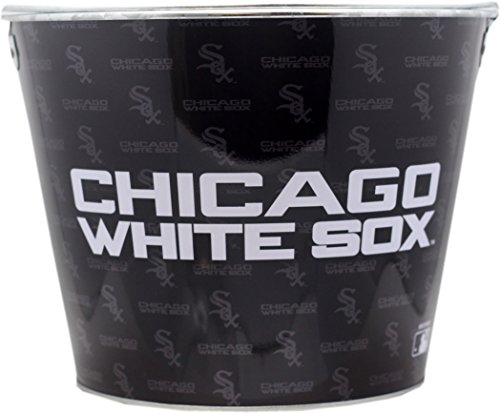 Chicago White Sox Beer Bucket Metal 2-Sided 4567 by St Louis Wholesale, LLC (Image #1)