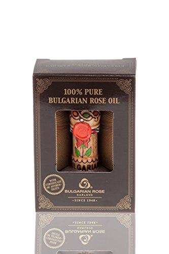 Pure-100-Essential-Rose-Oil-Otto-Bulgarian-Rosa-Damascena-Rose-Attar-05-ml-Therapeutic-Grade-Undiluted-Certified