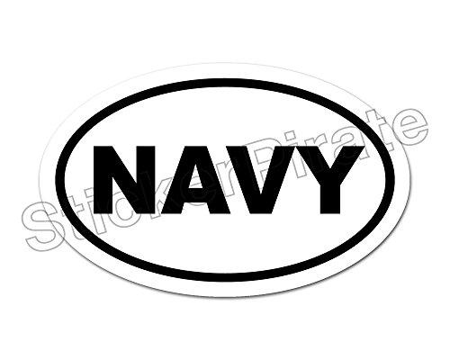 Navy Car Magnets - 9