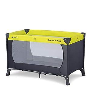 Cuna de viaje Bebé 3 piezas 120 x 60 cm Incluido colchón y bolsa de transporte, de 0+ meses hasta 15 kg, plegado y montaje fácil