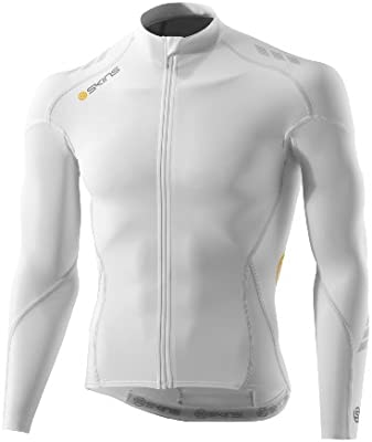 Amazon.com   Skins Men s Cycle Compression Long Sleeve Jersey 58855293d