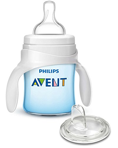 Philips AVENT My First Transition Cup, Blue, 4 Ounce (Trainer Cup Bottle Sippy To)