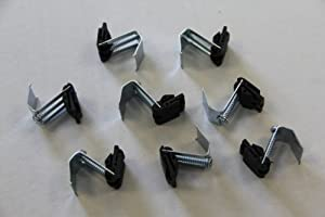 stainless steel kitchen sink clips and seal inset - Kitchen Sink Clips