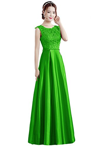 Vimans -  Vestito  - linea ad a - Donna Blight Green 46