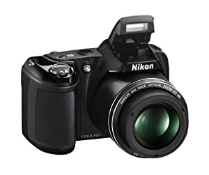 "Nikon Coolpix L330 - Cámara compacta de 20.2 MP (Pantalla de 3"", Zoom óptico 26x, estabilizador óptico), Negro"