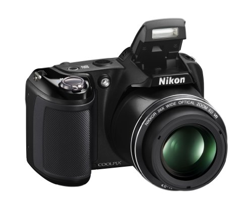 Nikon Coolpix L330 Digital Camera (Black)