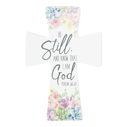 Be Still and Know That I Am God 9 x 6 inch Porcelain Wall -