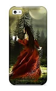 Andrew Cardin's Shop Anti-scratch And Shatterproof Fantasy Girl 3 Phone Case For Iphone 5c/ High Quality Tpu Case 9684075K67740642