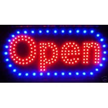 """LED Neon Light Open Sign With Animation On/off and Power On/Off two Switchs for Business By \""""E Onsale\"""" L46"""