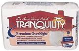 Tranquility Overnight Underwear, Size Medium, Value Pack of 216