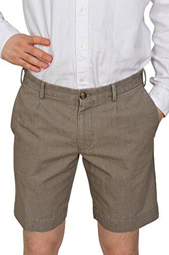 Incotex Pantalon Homme 48 Marron / Short Taille normale Coupe droite