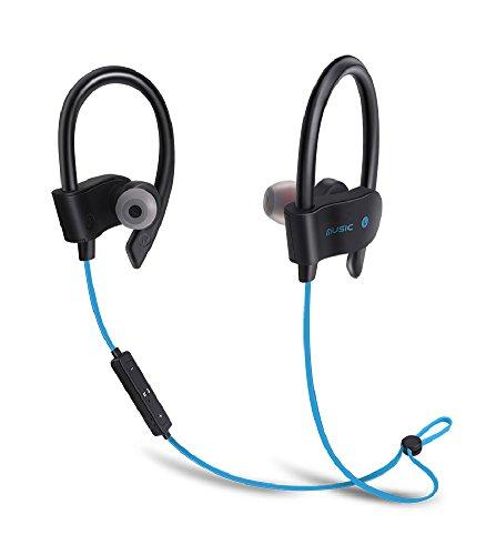 Wireless Sport Bluetooth Headphone (Blue) - 7