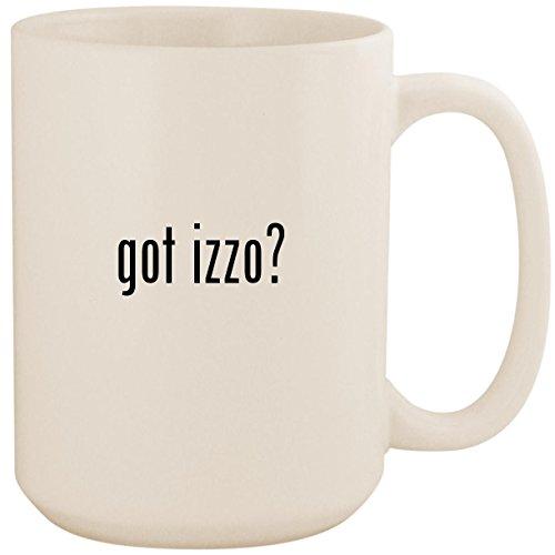 - got izzo? - White 15oz Ceramic Coffee Mug Cup