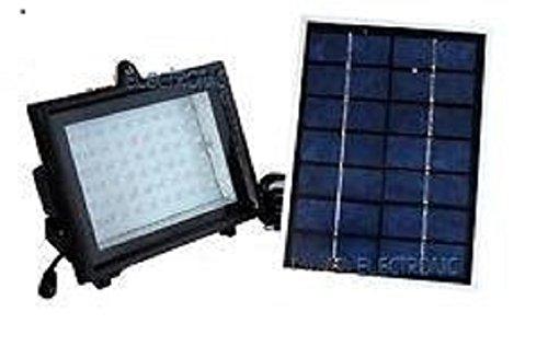 W oppure w kit faro faretto solare completo di pannello