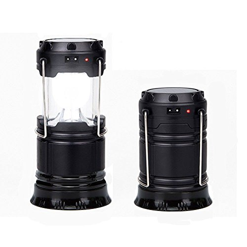 Rechargable Camping Lights/Lanterns Portable Collapsible 6 LED Outdoor Camping Hiking Lamp Lantern by TOPSKY