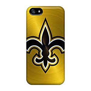 Durable Case For The Iphone 5/5s- Eco-friendly Retail Packaging(new Orleans Saints)
