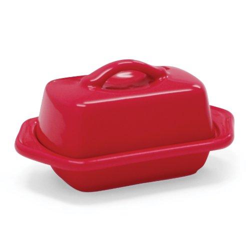 Red Mini Dish (Chantal 93-TVBD2-1 RR Mini Butter Dish, True Red)