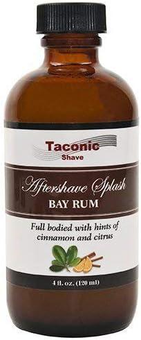 Taconic Shave Bay ron después del Afeitado - Artisan Hecho en los USA.