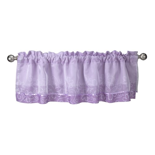 Lambs & Ivy Window Valance, Butterfly (Baby Butterfly Window Valance)