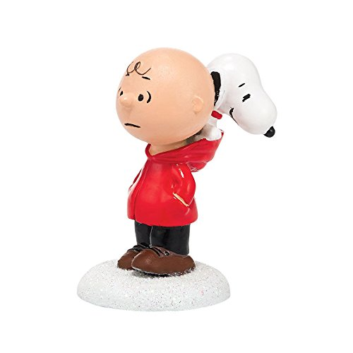 Peanuts Village Dog in Hood Charlie Brown and Snoopy Figurine 4038644 Dept 56