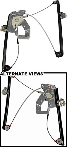 (APDTY 851589 Front Left (Driver-Side) Power Window Regulator w/o Motor Fits Select 1997-2003 BMW 5-Series (See Description; Replaces 51338252393))