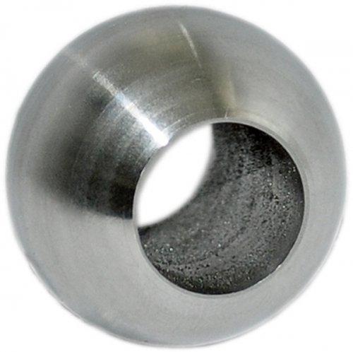Edelstahl Kugel ø 25mm mit Durchgangsbohrung ø 12, 2mm edelstahlonline24