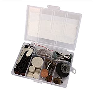 91pcs Electric Polishing Kit Dremel Rotary Tool Accessory Set for Grinding Sanding Polishing